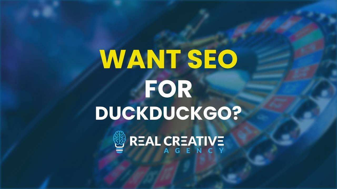 How Do You DO DuckDuckGo SEO