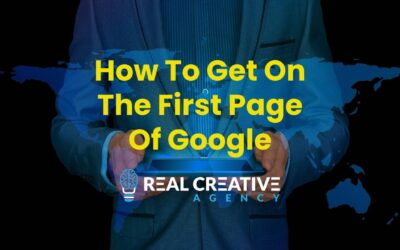 How To Get On The First Page Of Google Search Results