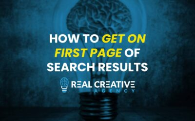 How To Get On First Page Of Search Results